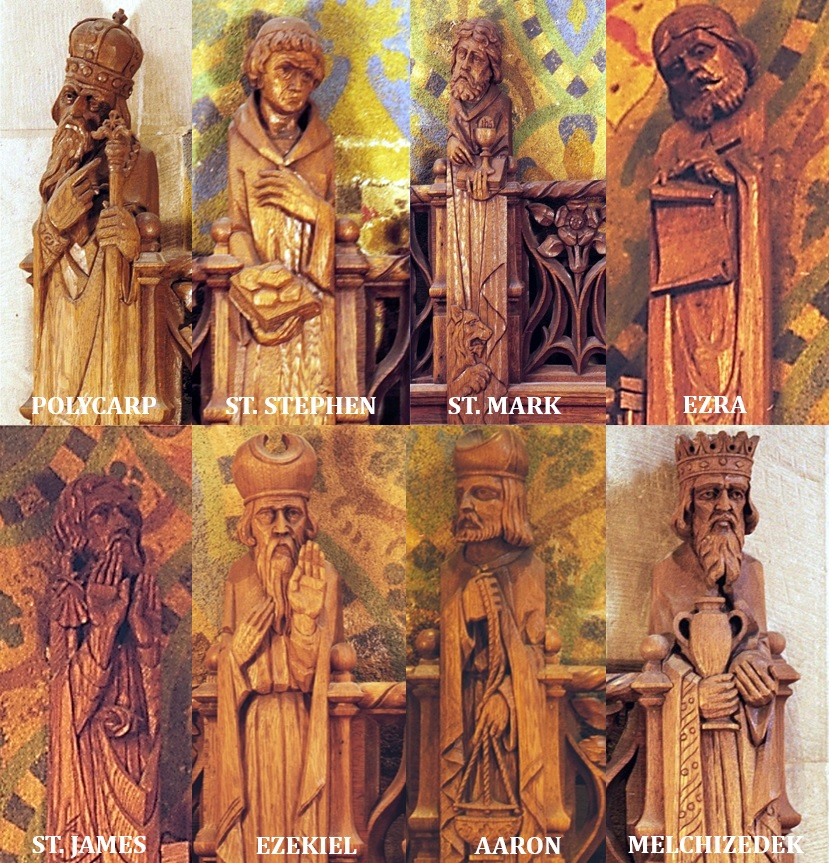 Wood Carvings | Historic Trinity