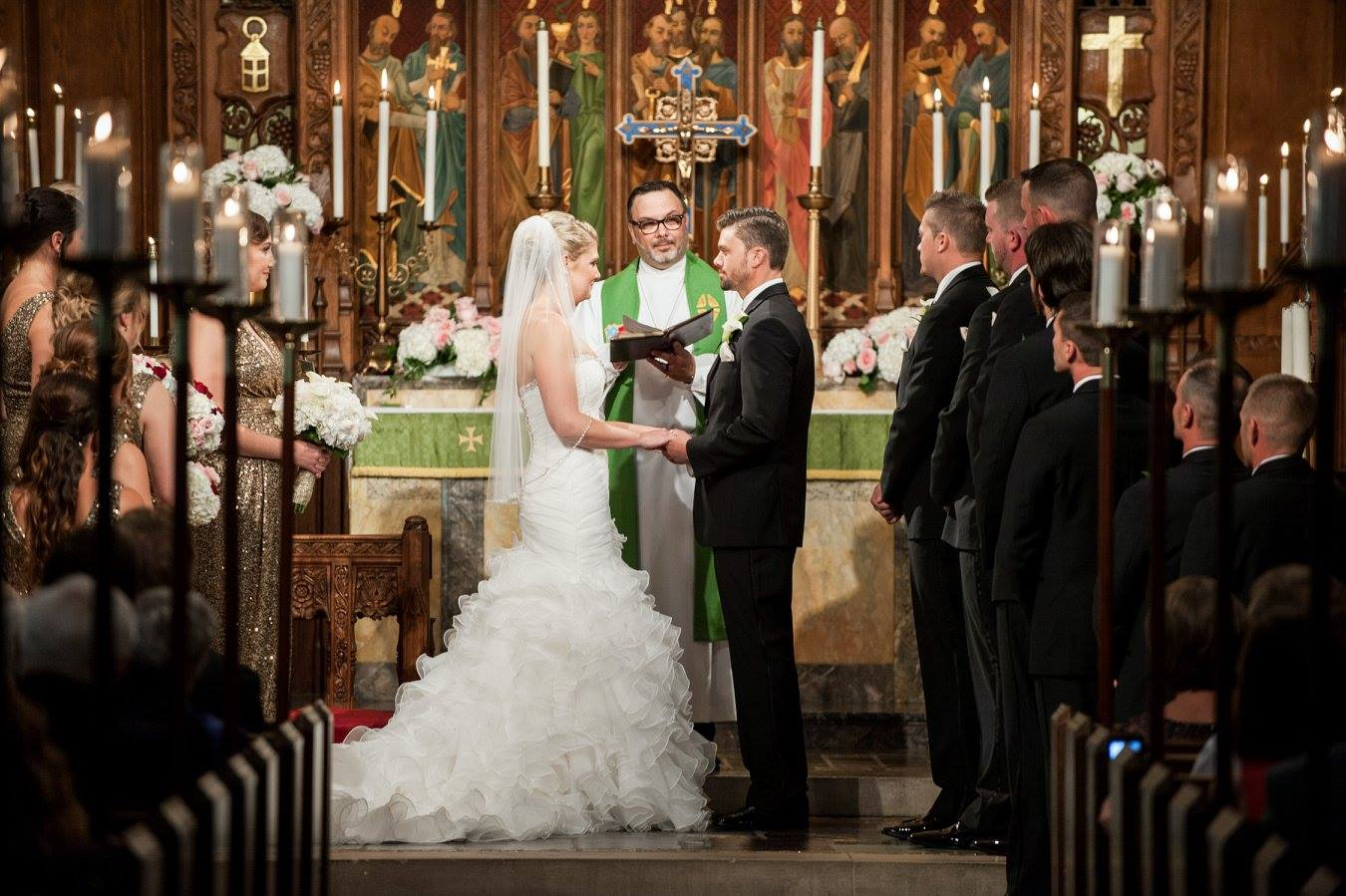 As bride and groom, you have particular reason for thanksgiving. It was God  who brought you together and who will unite you as husband and wife.